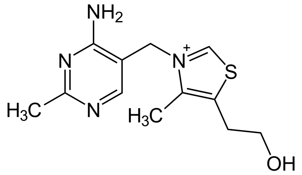 vitamin b1 chemical structure